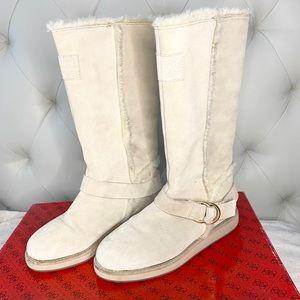 GUESS Beige Winter Boots Flat